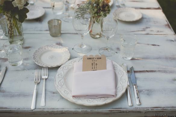 7 dinner table plate