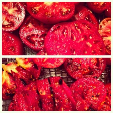 roasted tomats